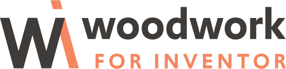 Woodwork for Inventor Logo