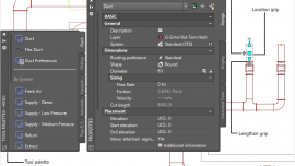 autocad-MEP-feature
